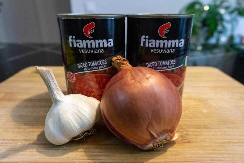 The key ingredients of this tomato soup recipe
