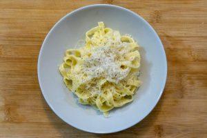 Classic Fettuccine Alfredo Without Cream