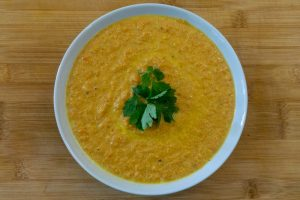 Easy Carrot Soup Without Stock or Cream