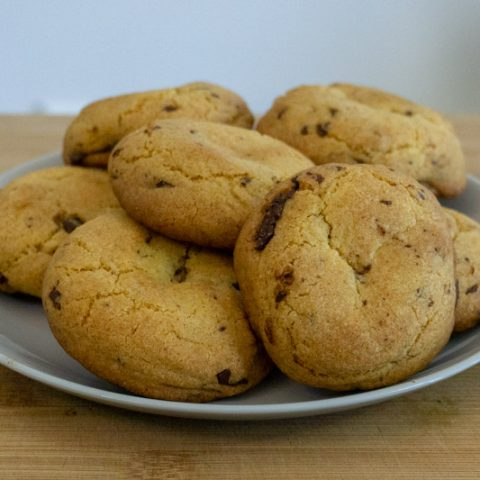 Chocolate Chip Cookies without Chocolate Chips & Brown Sugar