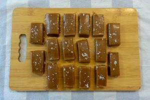Chewy Salted Caramel Without Corn Syrup
