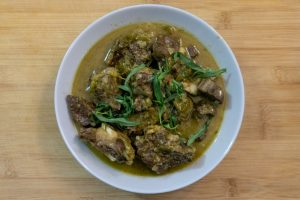 Chakapuli - Georgian Lamb Stew