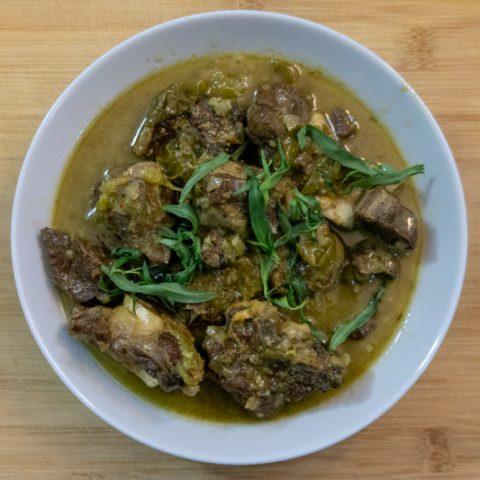 Chakapuli - Georgian Lamb Stew