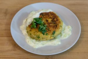 Mediterranean Chickpea Burgers Without a Food Processor