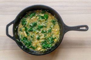 Parsnip & Leek Soup ready to serve!